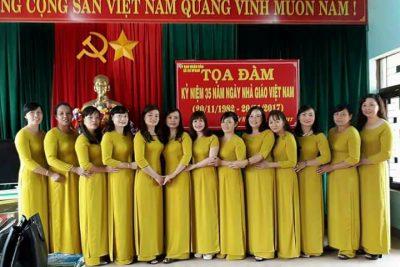 Đội ngũ nhà giáo trường TH Ama Trang Lơng