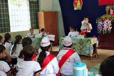 Đại hội liên đội Trường tiểu học A Ma Trang Lơng