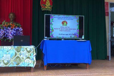 Sáng ngày 18/12/2019, trường Tiểu học Ama Trang Lơng đã tổ chức buổi Hoạt động ngoài giờ lên lớp kỉ niệm 75 năm ngày thành lập Quân đội nhân dân Việt Nam và 30 năm ngày Quốc phòng toàn dân.
