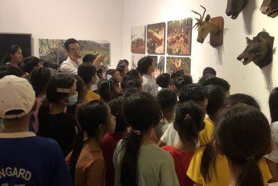 Ngày hội trải nghiệm sáng tạo trường TH Ama Trang Lơng